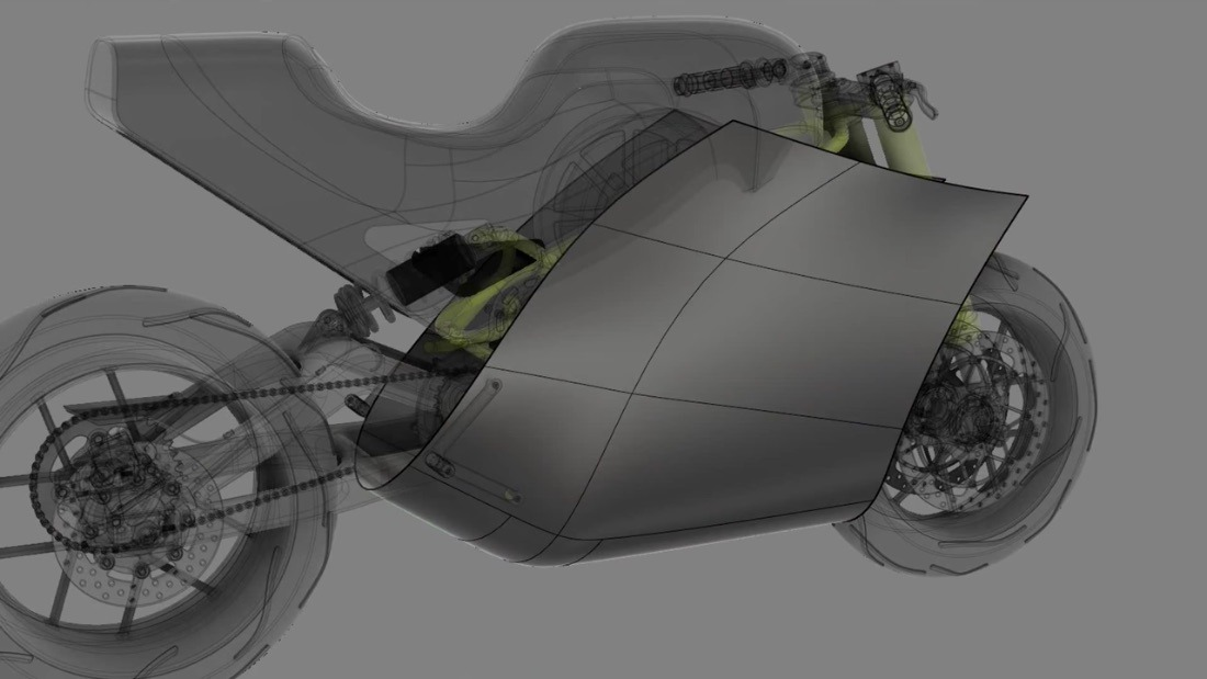 T-Spline Sculpted engine cover fairing