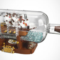 This LEGO Fan-Made Ship In A Bottle Is Going To Be The Newest LEGO Ideas Set