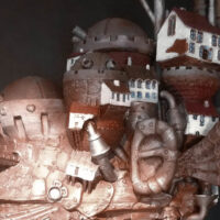 Model of the Week: Howl's Moving Castle [Your Head's a Turnip!]