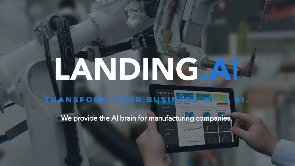 landing.AI - AI for manufacturing