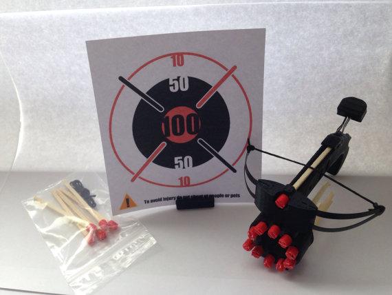 3d printed matchstick crossbow