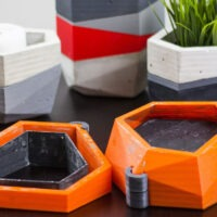 Model of the Week: Reusable, Modular Planter Mold [ Plant Love!]