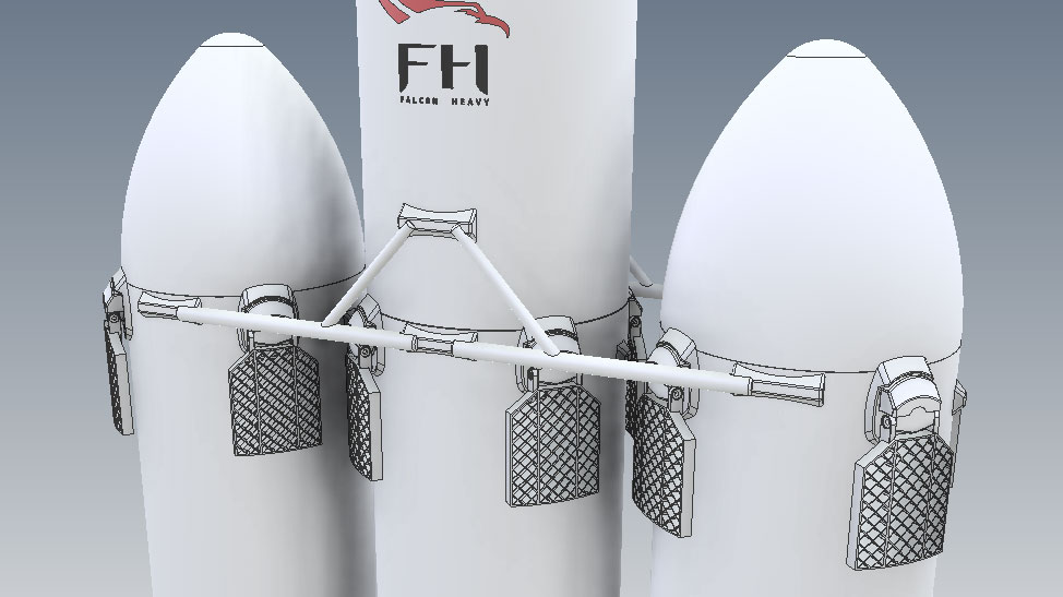 spacex-falcon-heavy-3d-model