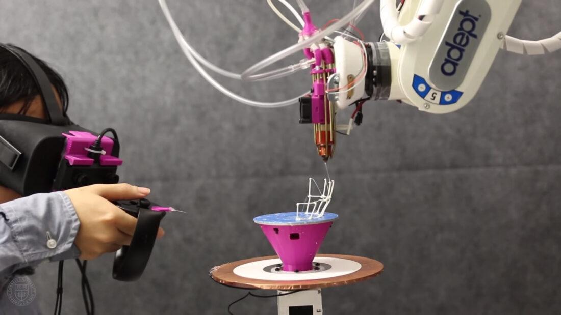 AR CAD software robot