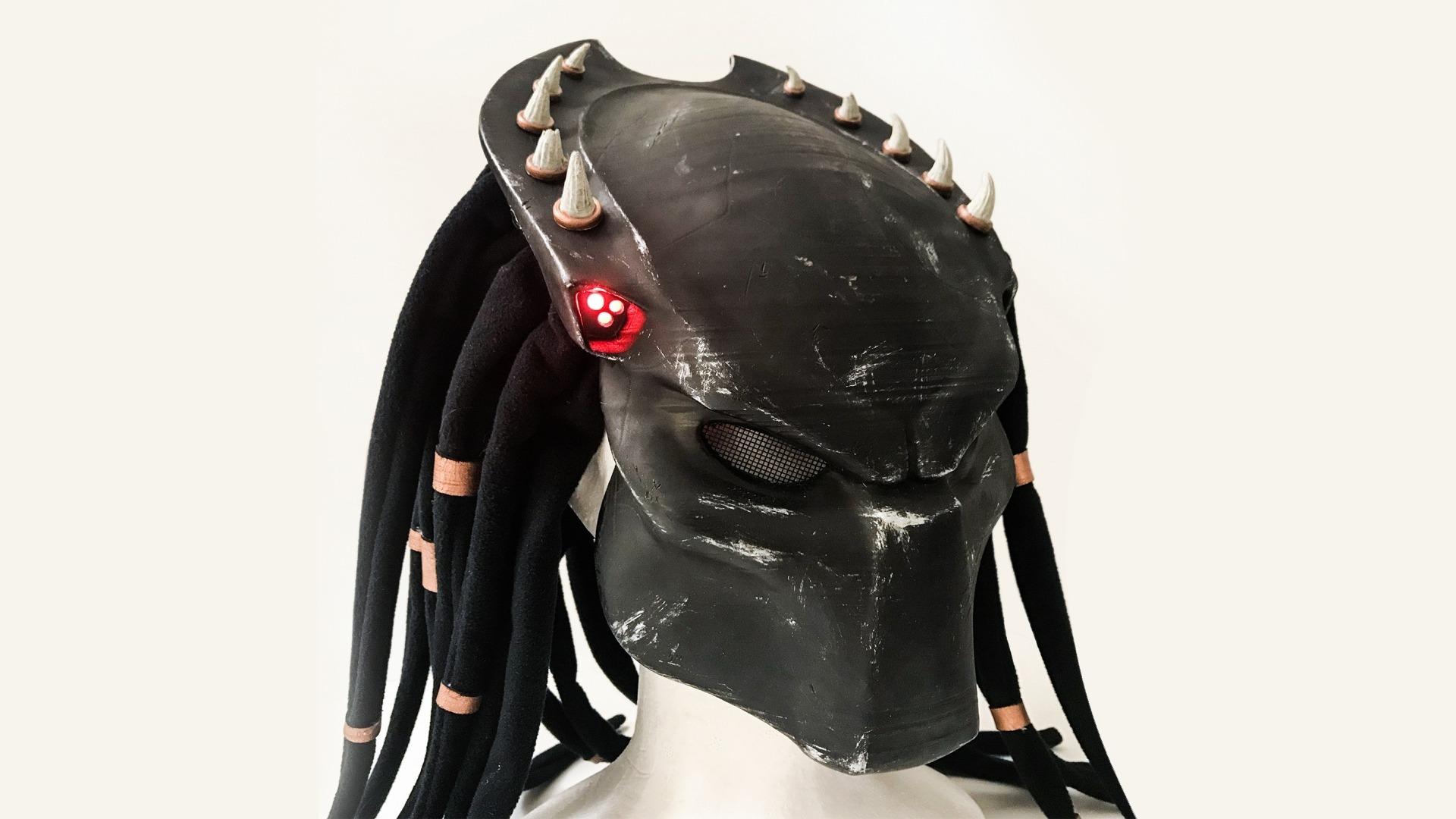 3d printed Predator mask