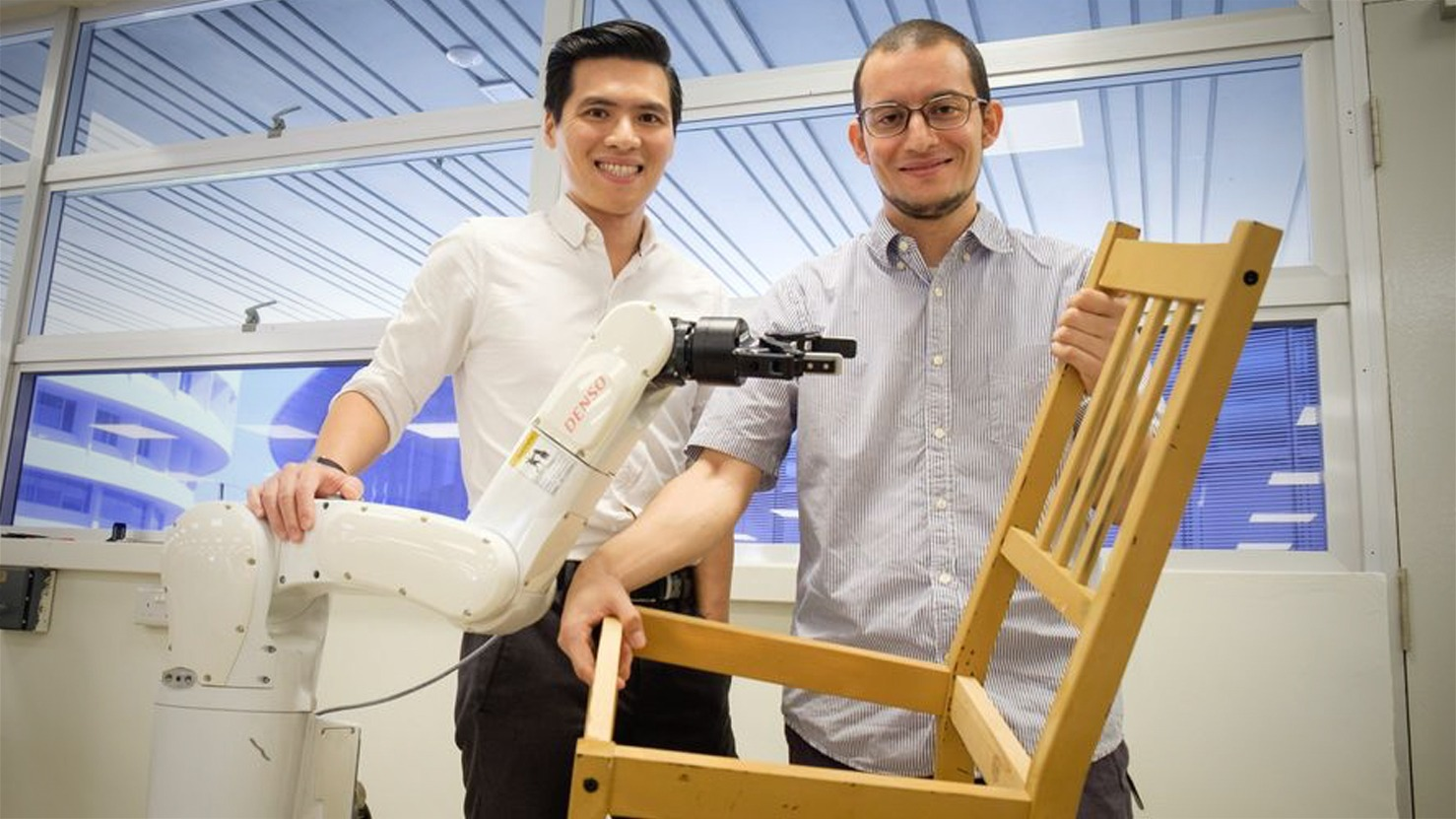 Autonomous Robot Intelligence Now Tested With Ikea