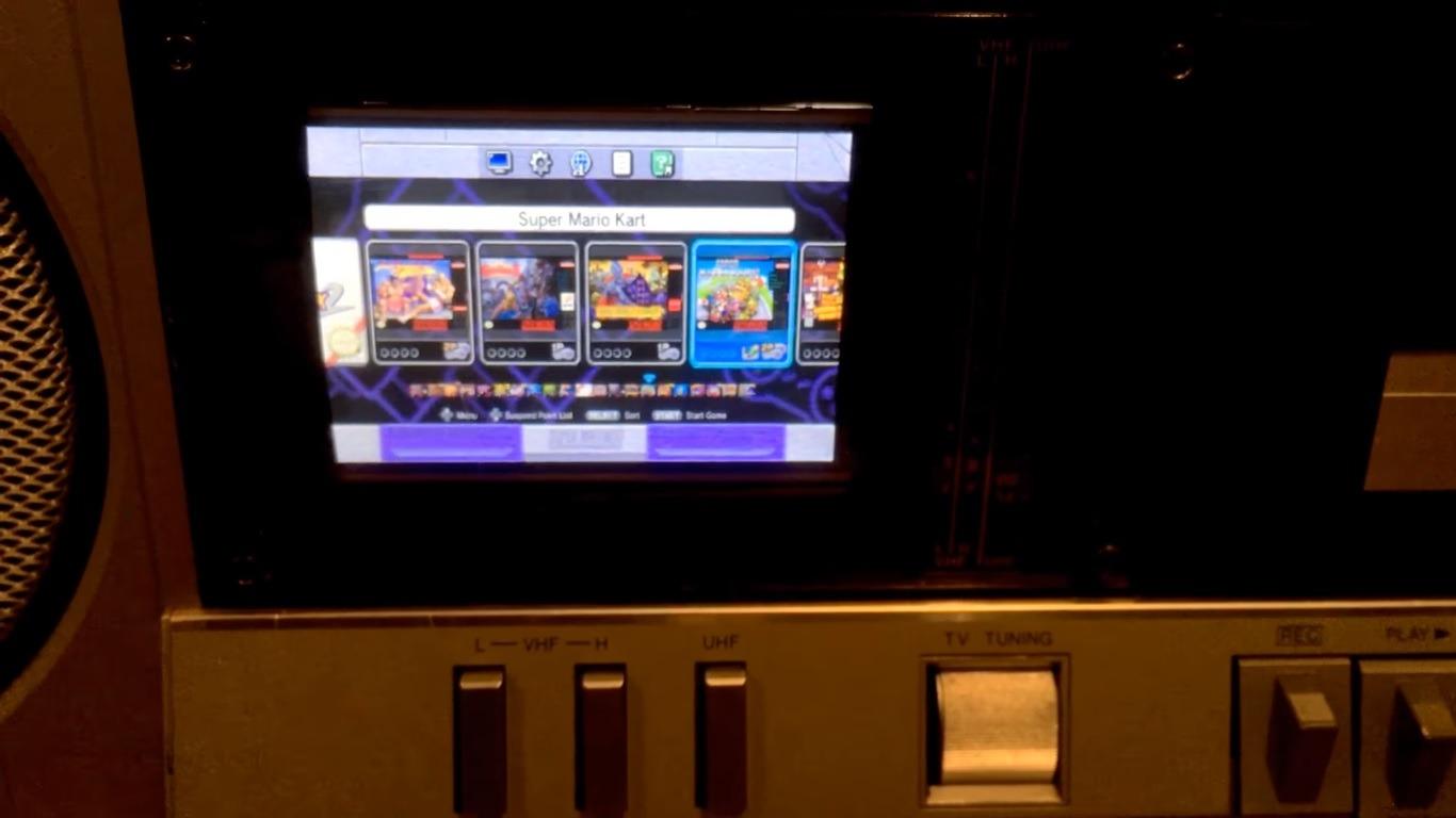 SNES Classic Boombox