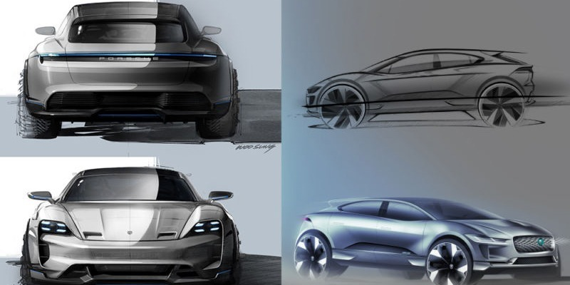high-end auto designers go electric