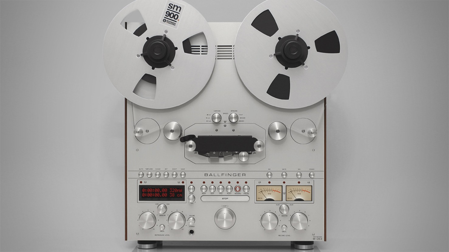 Precision-Engineered Reel-to-Reel Tape Decks Make a Stunning Comeback