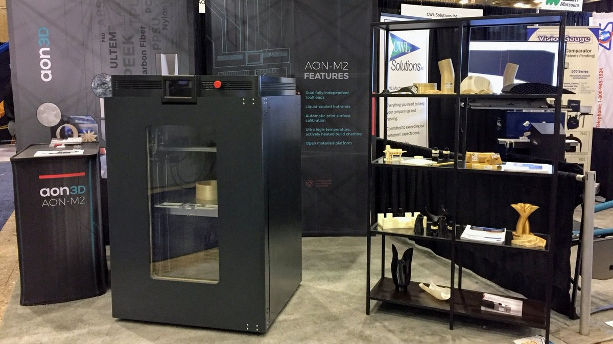 The Aon3D high-temperature 3D printer