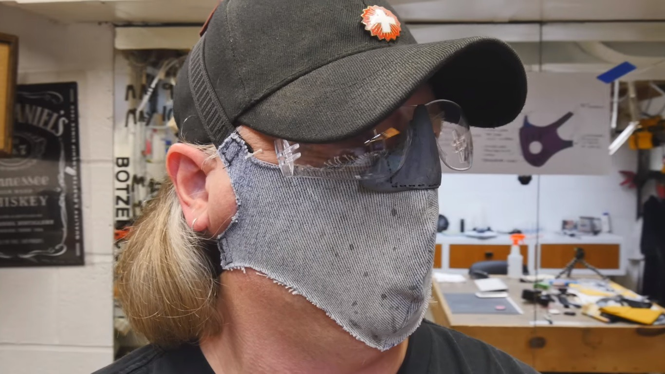 After an Injury, Industrial Designer Eric Strebel Wants to Make the Ultimate Dust Mask
