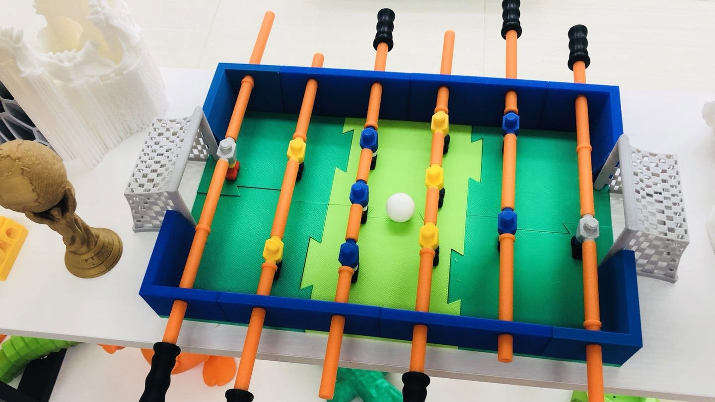 3d printed foosball table