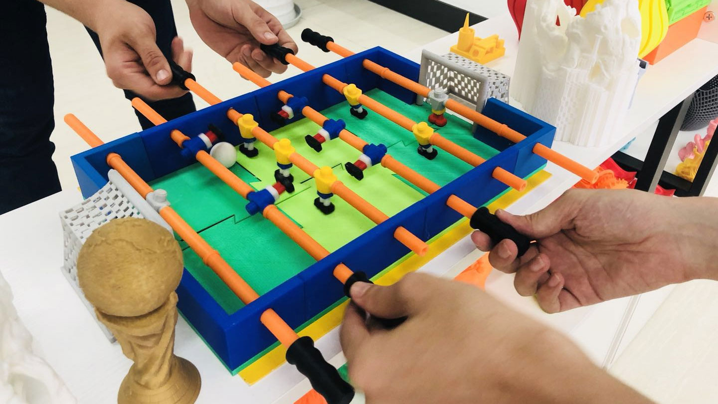 3d printed mini fooseball table