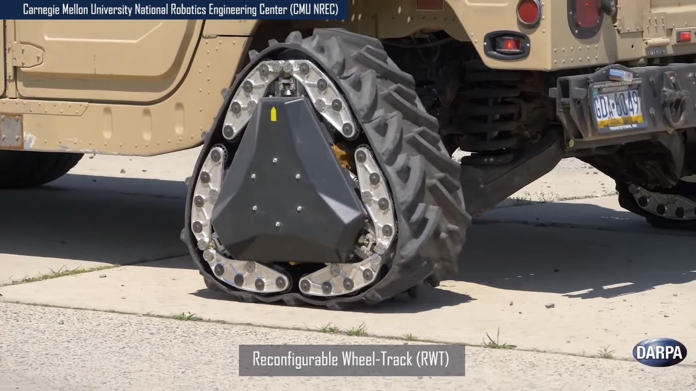 DARPA Wheel Technologies