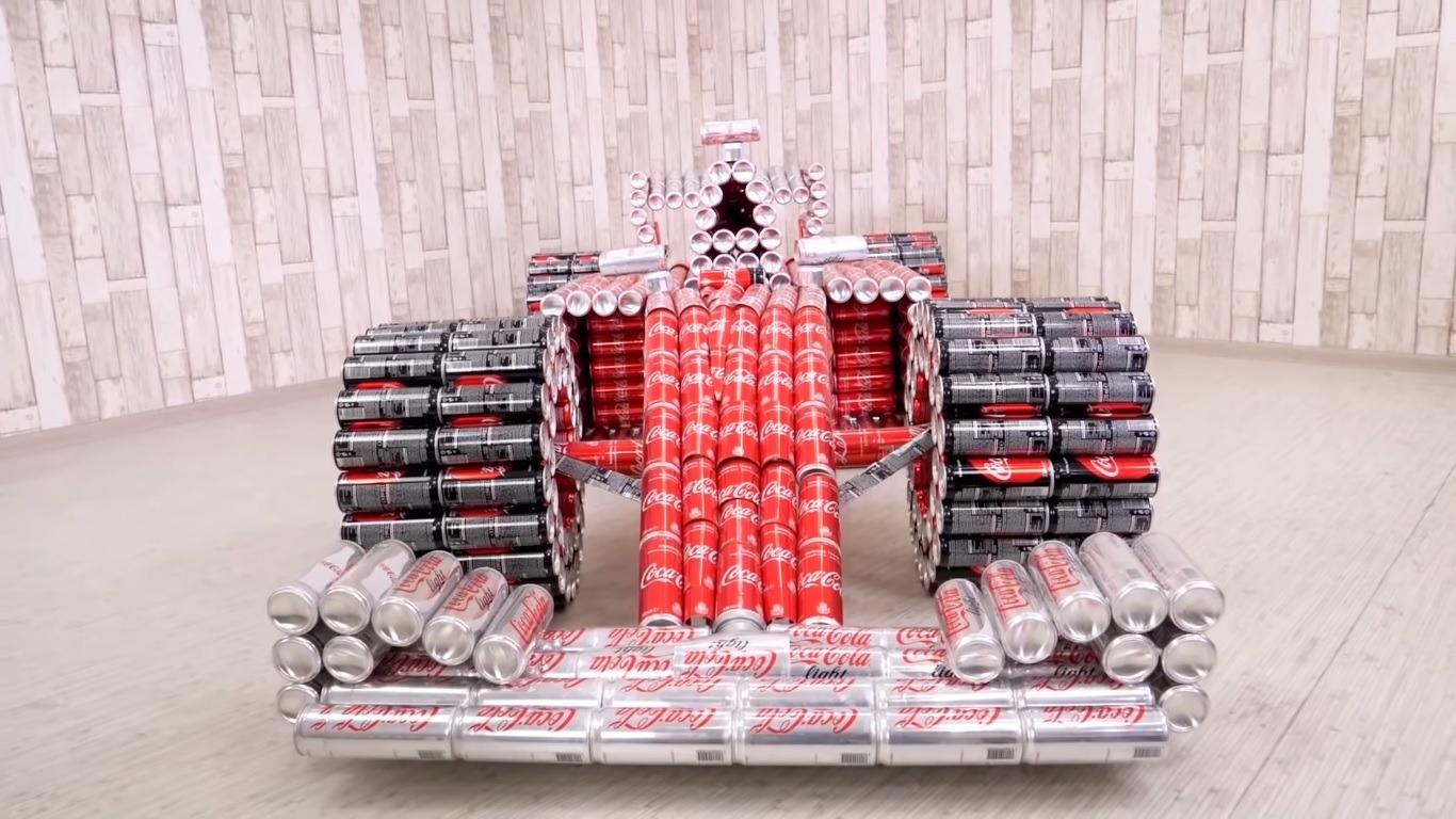 F1 Coke Car