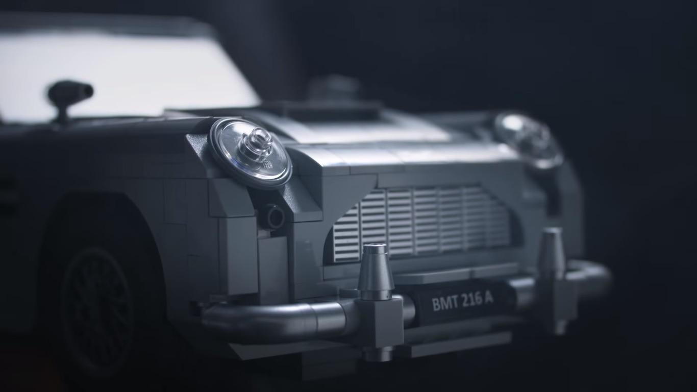 LEGO James Bond car