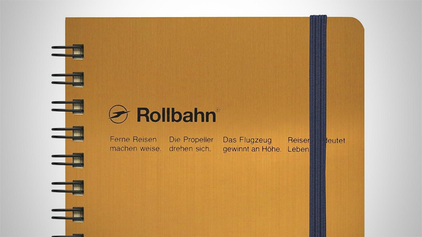 Rollbahn-Notebook