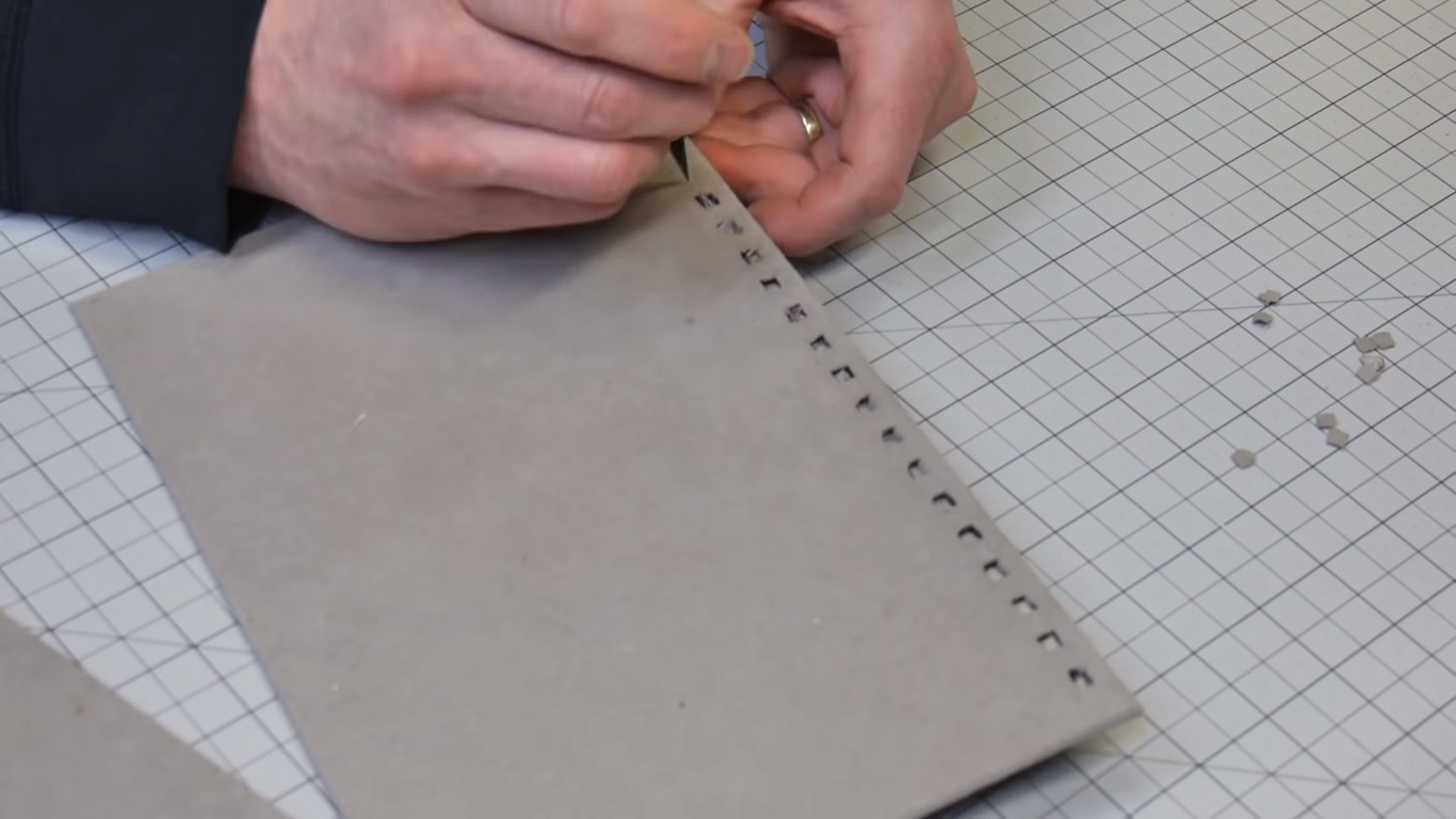 Sketchbook rewiring and custom cover