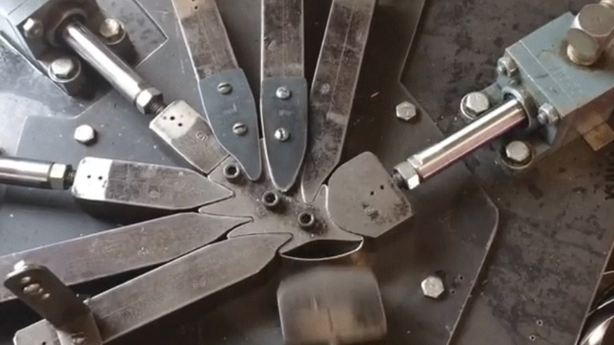 Watching Steel Ribbons Get Pressed into Cookie Cutters Is Mesmerizing