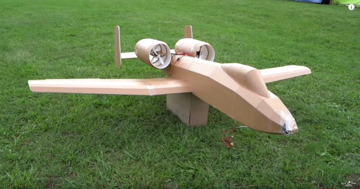 Make a Massive 8-Foot A-10 Warthog -(From Dollar Store Foam Board