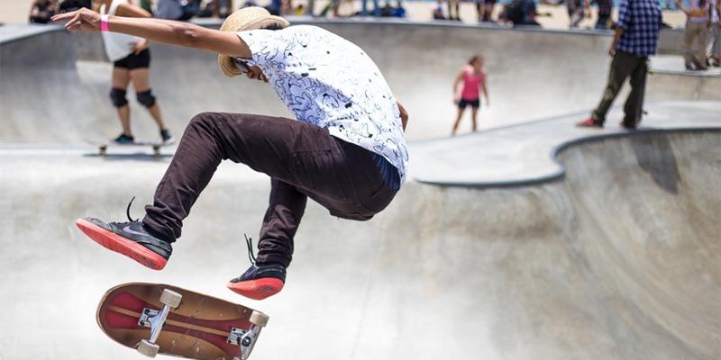 Skateboarding Olympics