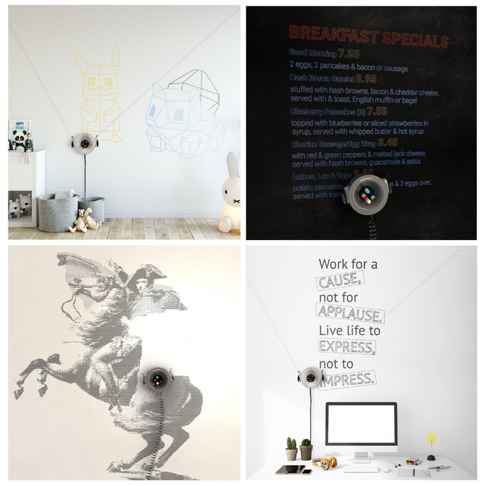 Scribit Wall Drawing Robot