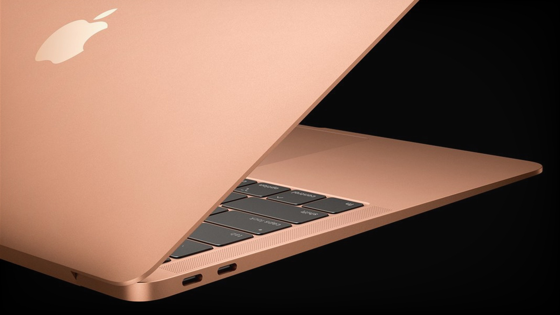 Rose Gold MacBook Air