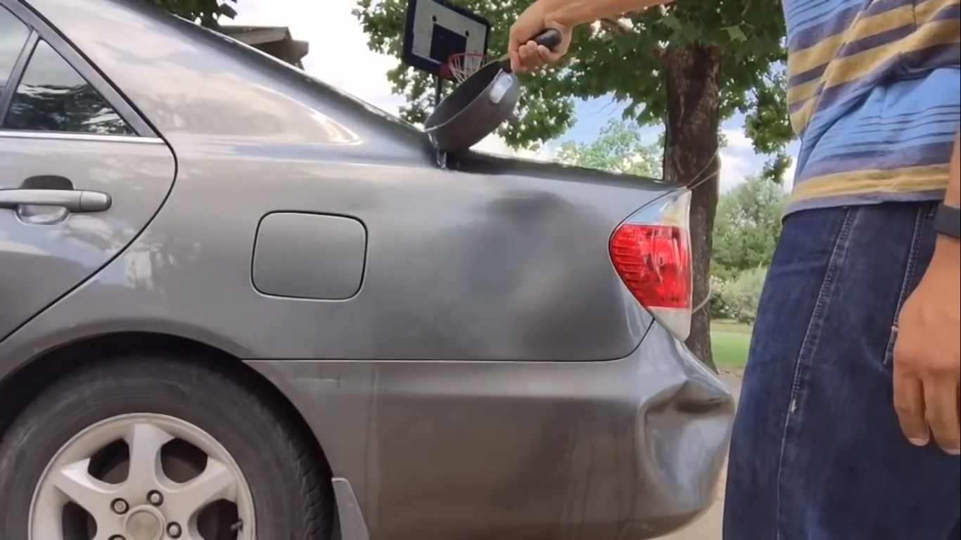 auto body dent repair diy