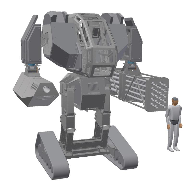 MegaBots Iron Glory Open Source