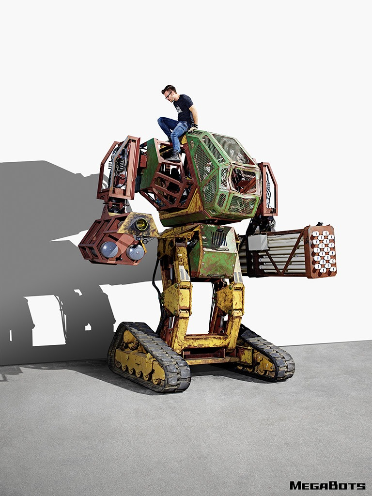 MegaBots Iron Glory Open Source