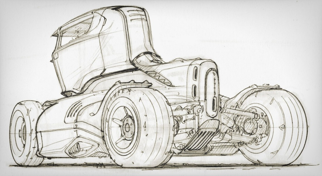 Scott Robertson Sketching