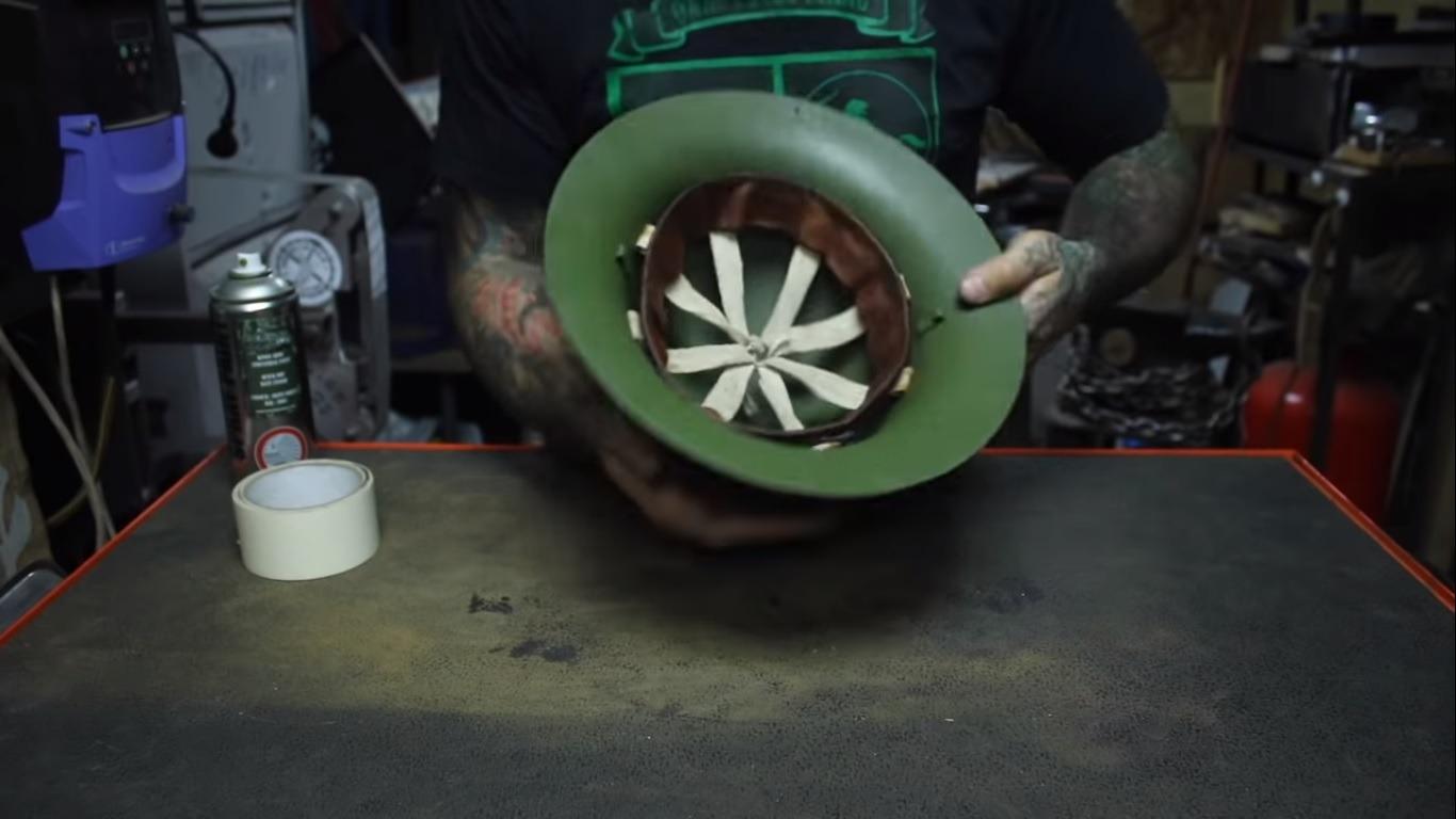 WW2 Helmet Restoration
