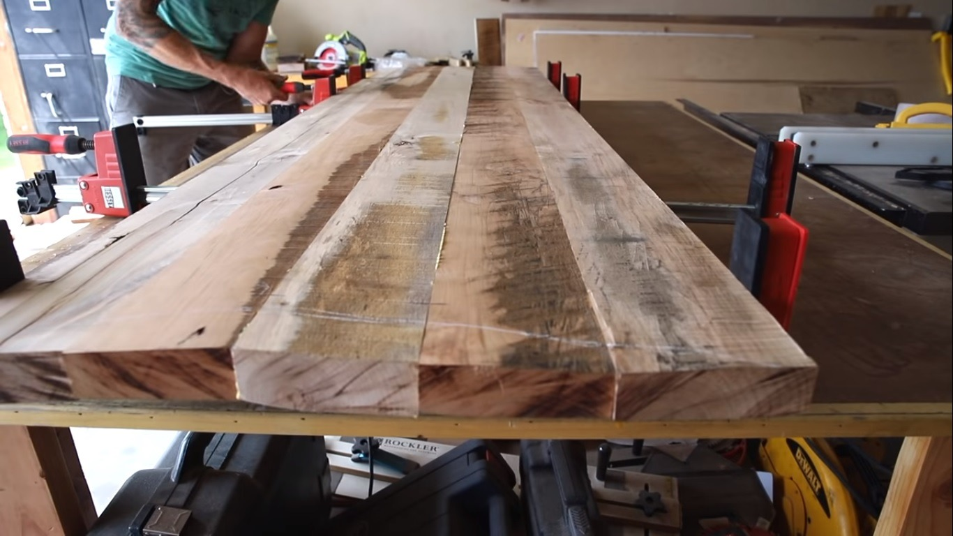 Behind The Design Making A Farmhouse Table From Reclaimed