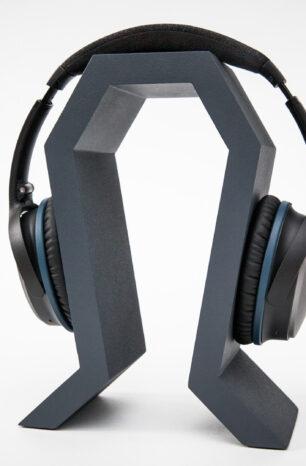 Model of the Week: Minimal 3D Printed Headphone Stand [Chunky!]