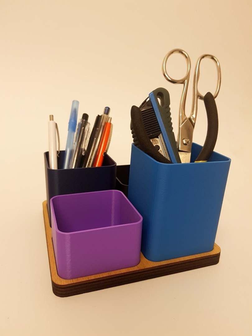3d printed pen holder