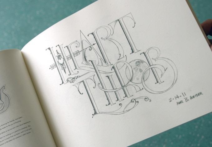 A Sign Painter's Sketchbook