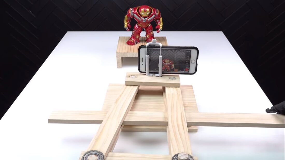 DIY smartphone holder