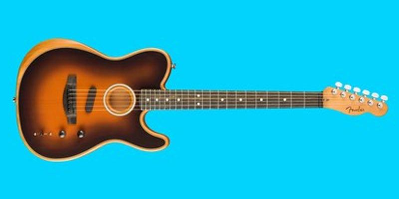 Fender's New Acoustic Guitar Has a Million Different Voices