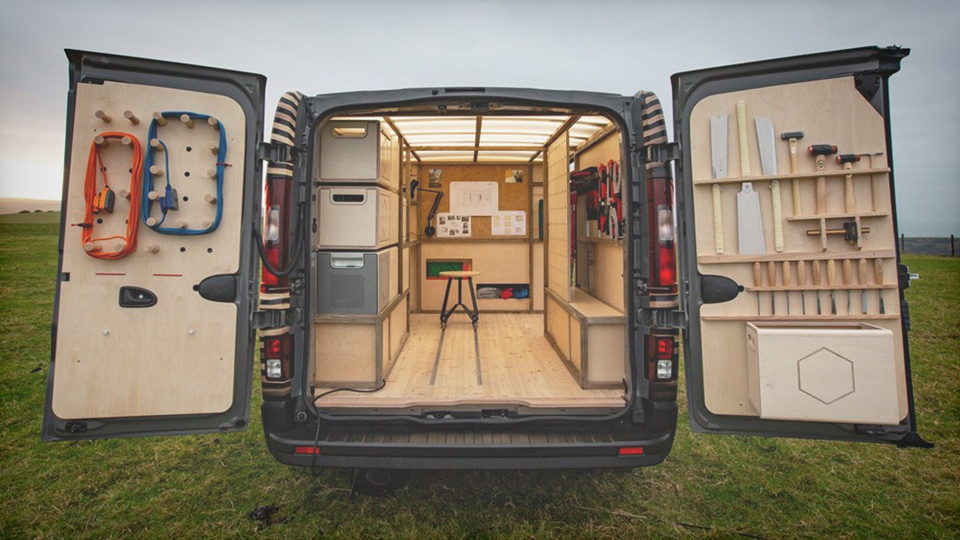mobile workshop van