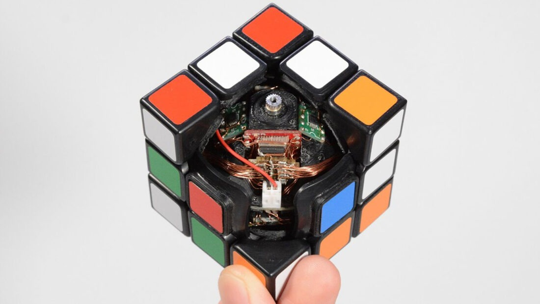 Design Process: How to Create a Self-Solving Rubik's Cube