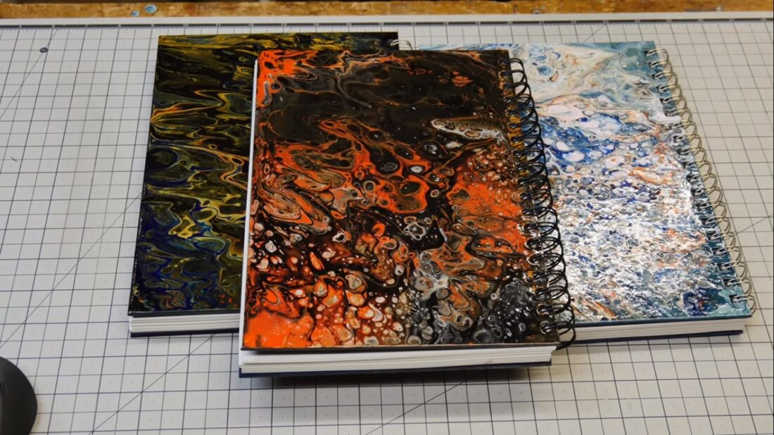 acrylic sketchbook covers