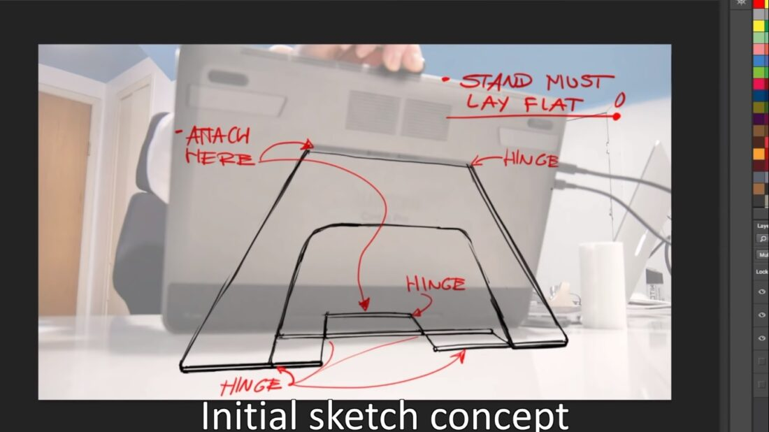 cintiq tablet stand