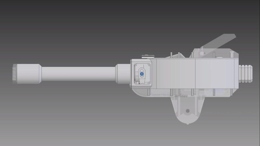 life-size torb turret