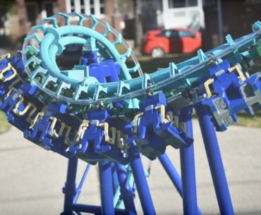 SolidWorks roller coaster