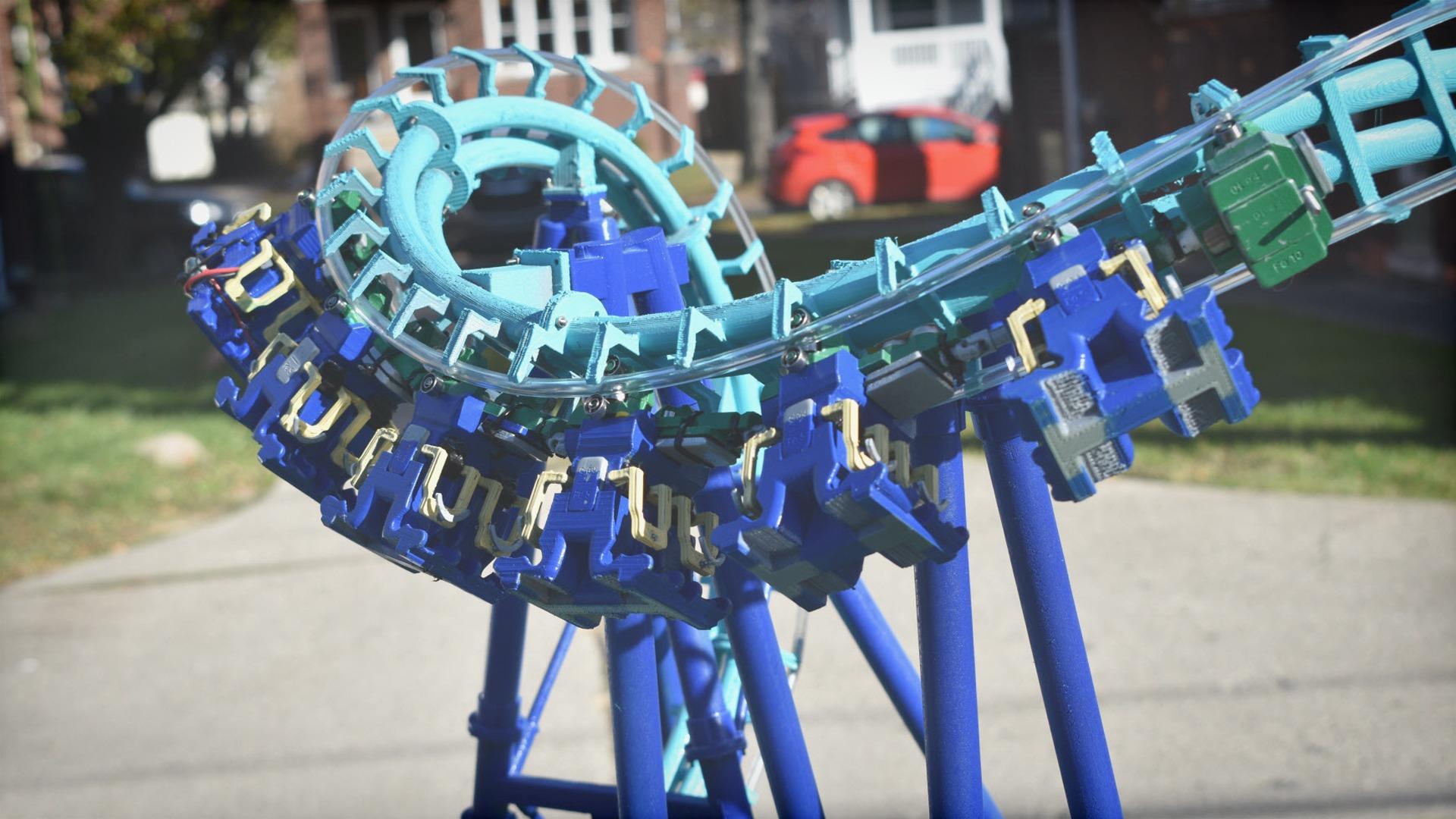 SolidWorks roller coaster