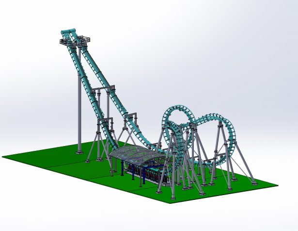 miniature roller coasters