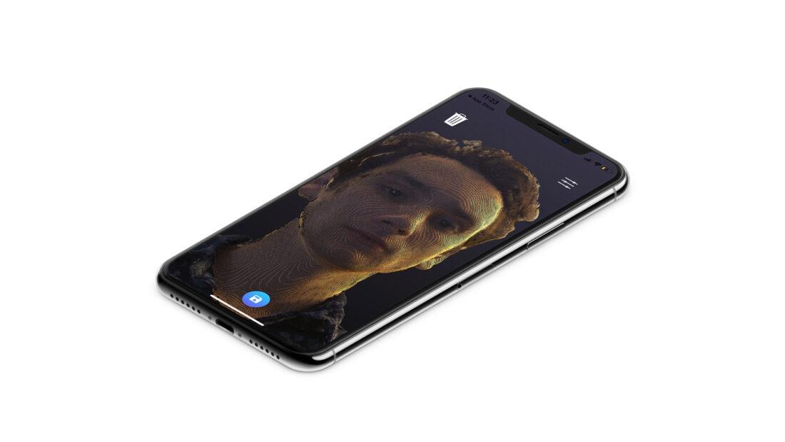 iphone 3d scanning