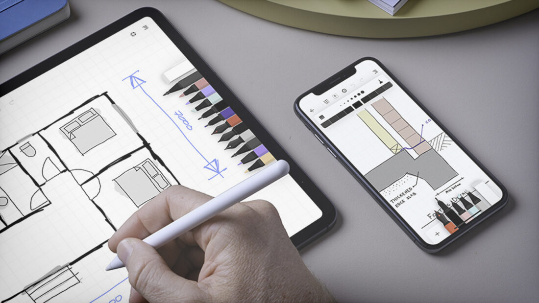 The New Sketching App from Moleskine is Brilliant in Its Simplicity