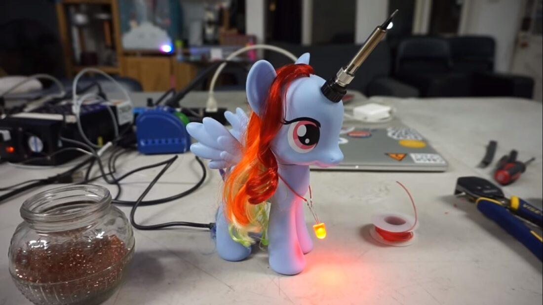 soldering unicorn