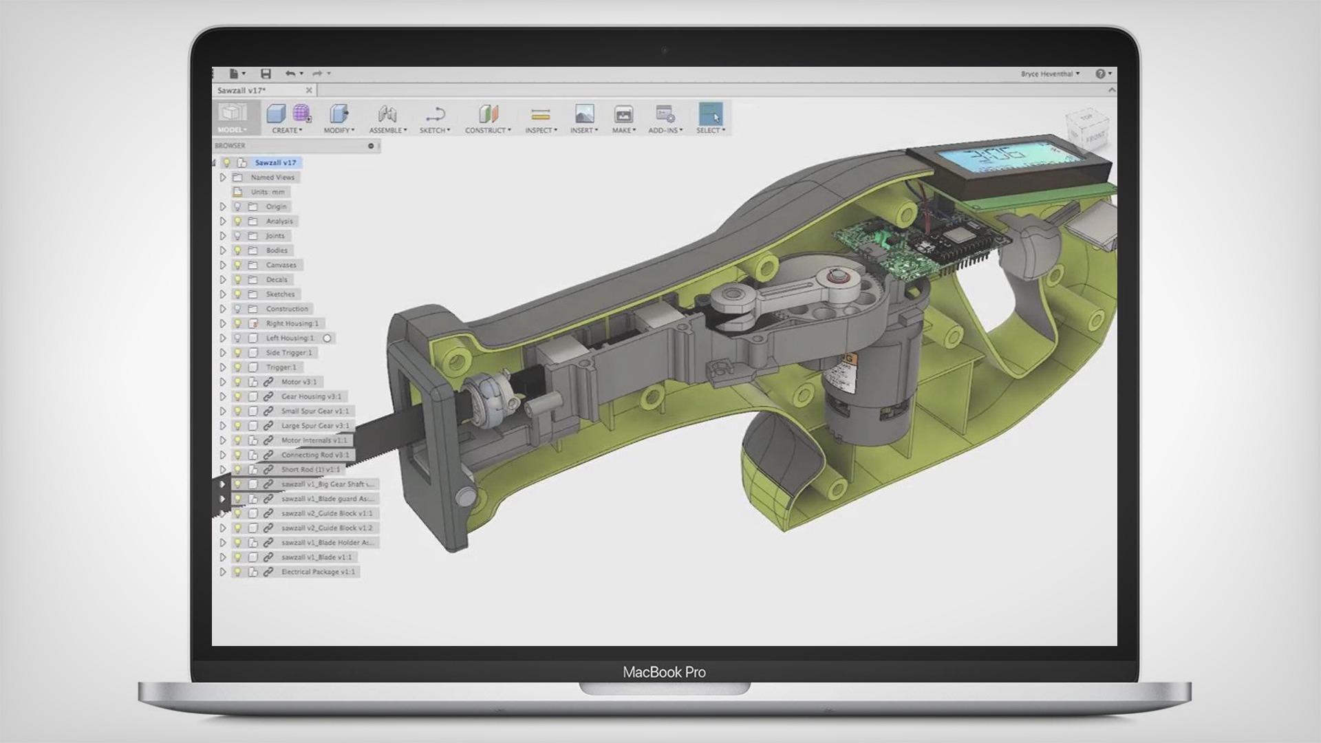 Fusion 360 CAD